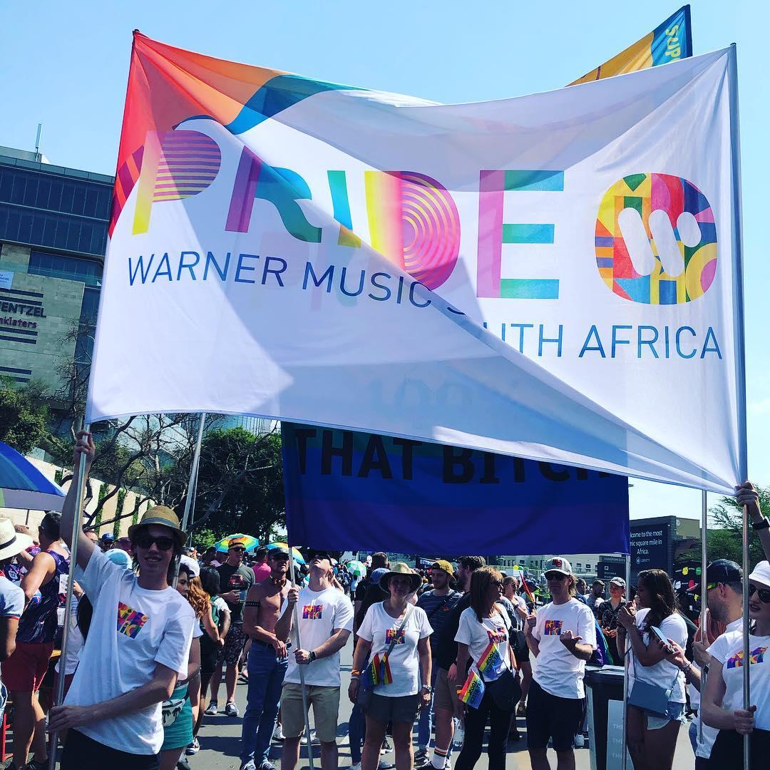warner music sa at gay pride day in joburg