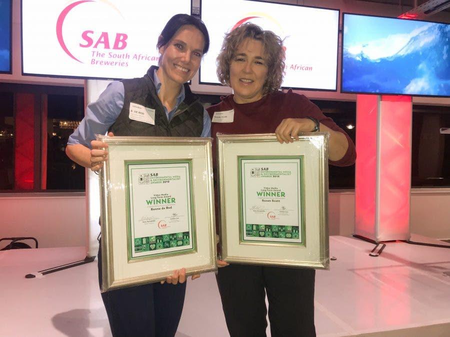 Susan Scott and Bonné de Bod