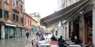 venice floods storm climate change