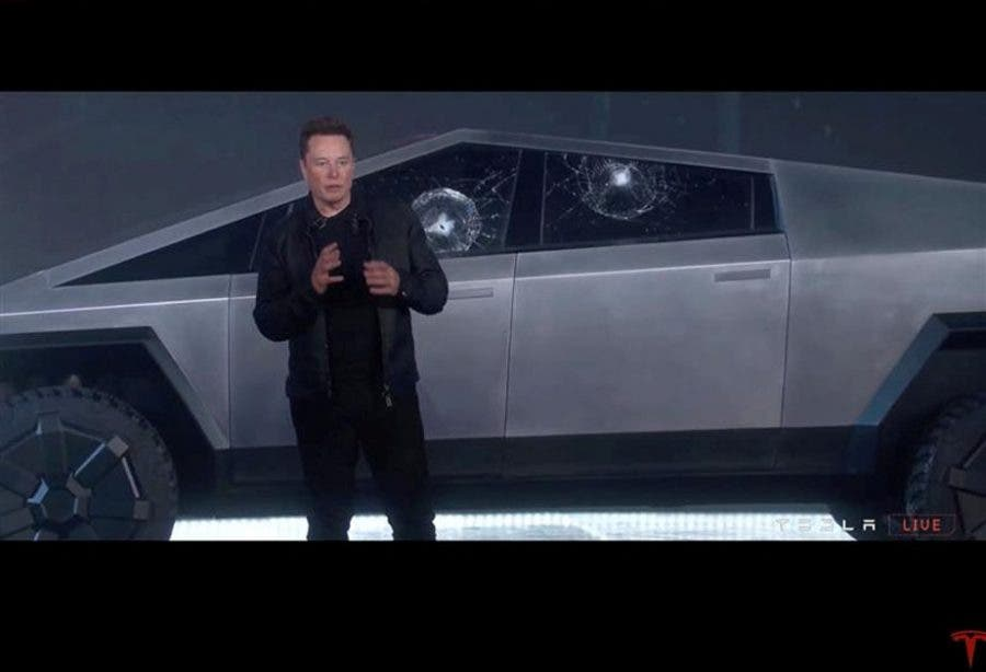 Elon Musk cybertruck bakkie