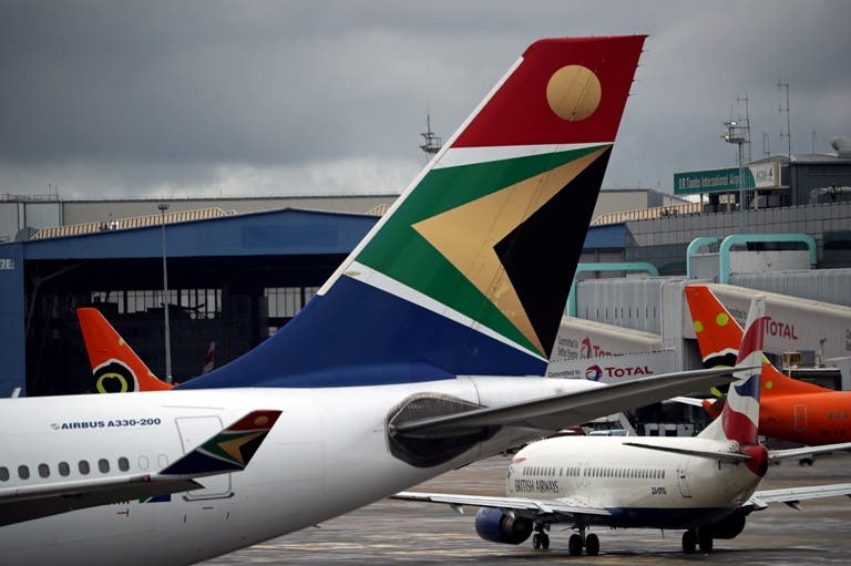 south african airways into business rescue