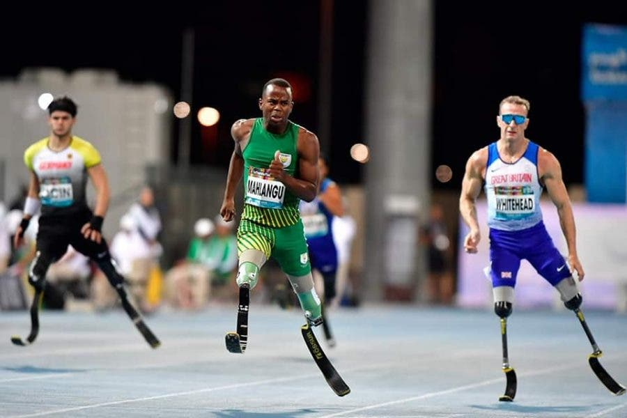 Ntando Mahlangu wins gold in dubai