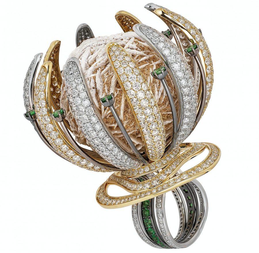 Desert Rose ring featured in New York