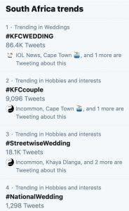 kfc-wedding-twitter-trends