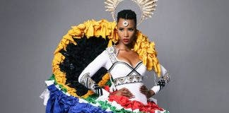 miss south africa national costume miss universe