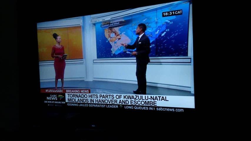 tornado in south africa kzn
