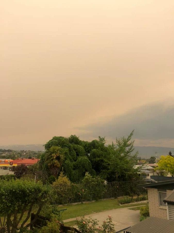 smoke haze in new zealand from 2 australia