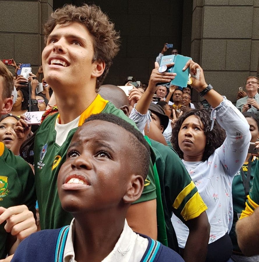 south african springbok fans bok victory tour