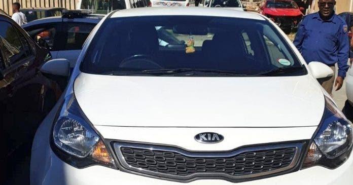stolen white vehicle joburg murder
