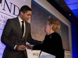 trevor noah and madeleine albright