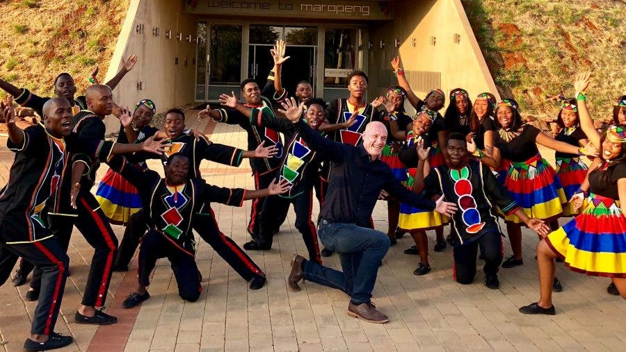wouter kellerman ndlovu youth choir win hollywood award