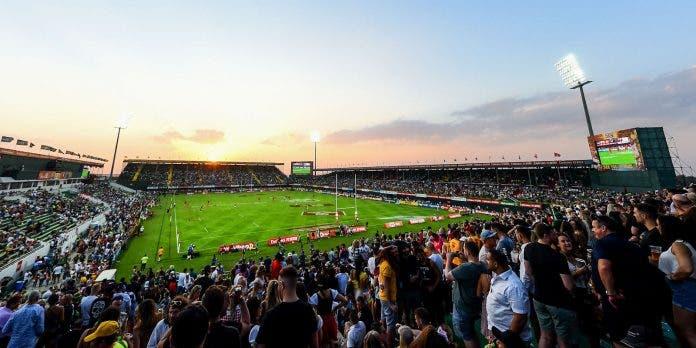 south africa springbok sevens rugby in dubai
