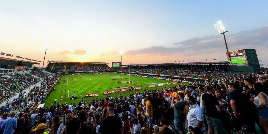 south africa springbok sevens rugby in dubai