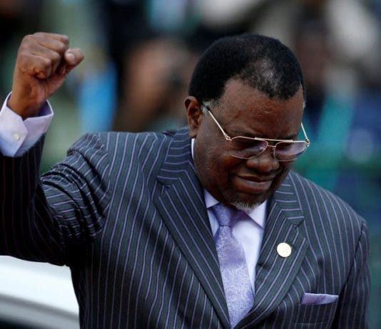 Hage Geingob has won the 2019 Namibian presidential election