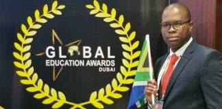 Khangelani Sibiya teacher of the year award south african
