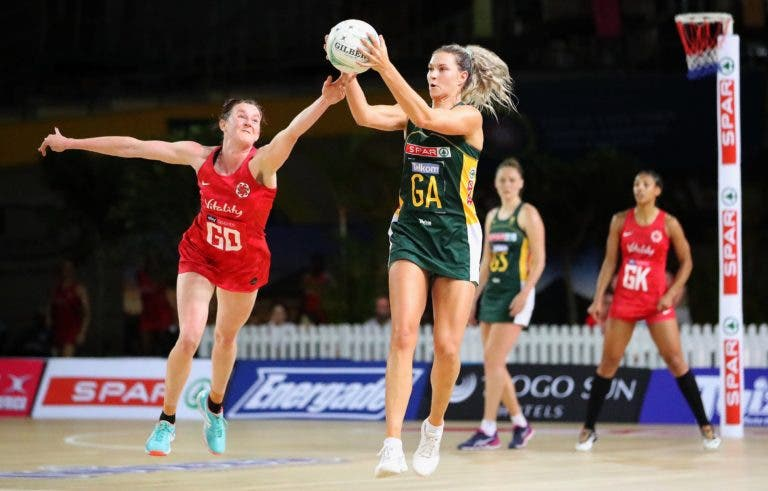 south africa netball team proteas beat england win