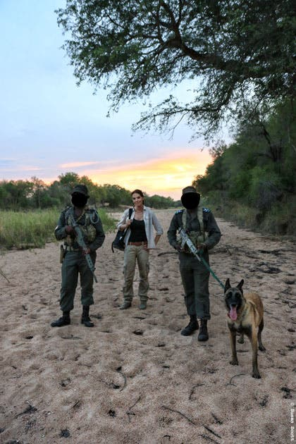 stroop wins kudu award, donates prize to kruger k9 unit