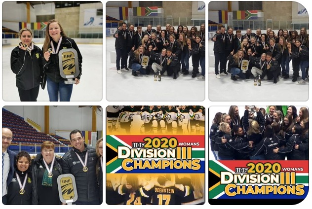 south african woman ice hockey world champs
