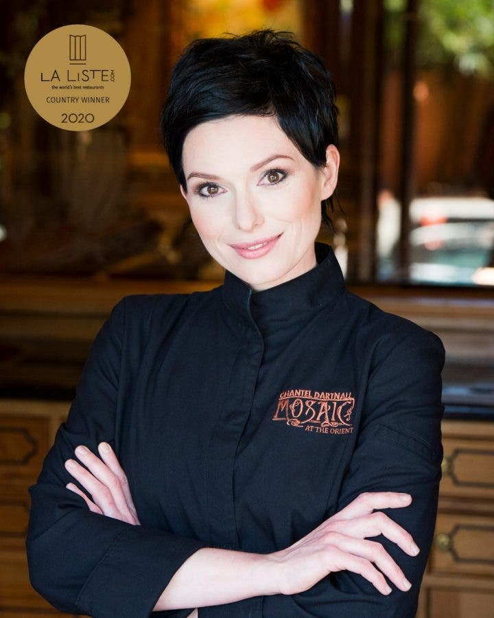 Chantel Dartnall's Restaurant Mosaic has won internationally.