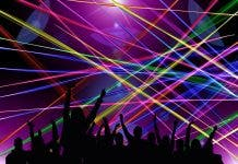 laser light show plett new years eve instead of fireworks