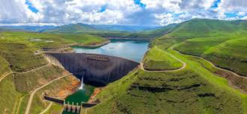 lesotho highlands water project tunnel re opened