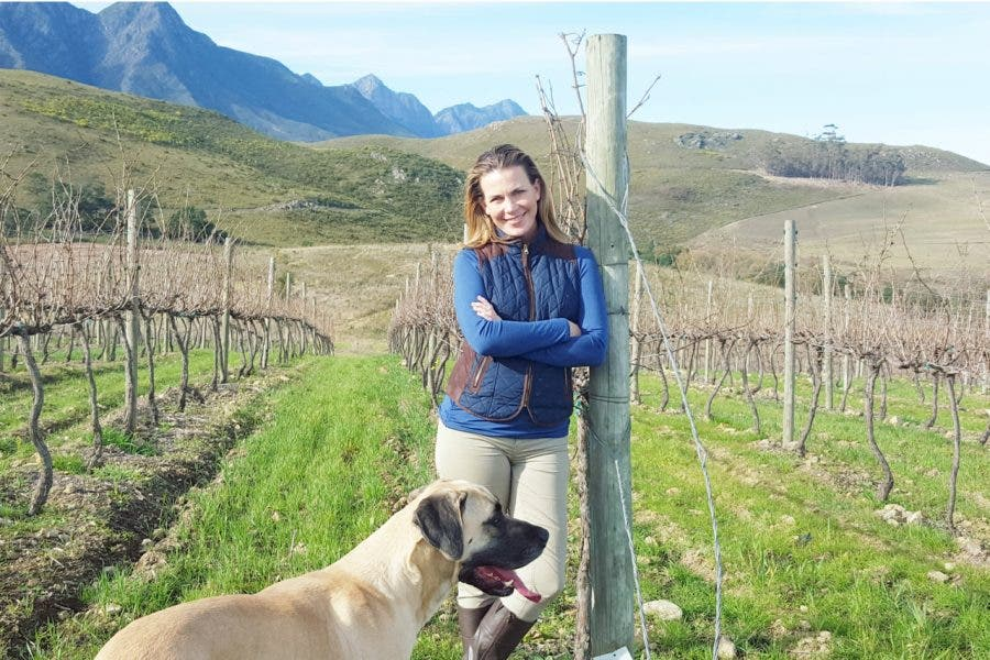 Samantha O'Keefe went from being a newcomer to winemaking to now having highly touted wine. Credit: Courtesy of Lismore Estate Vineyards.