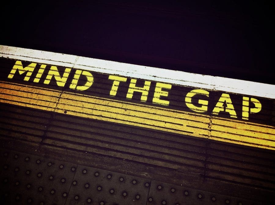 mind the gap story