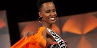 miss south africa at miss universe competition