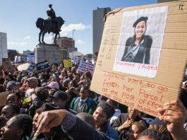 nene protest ashraf hendricks