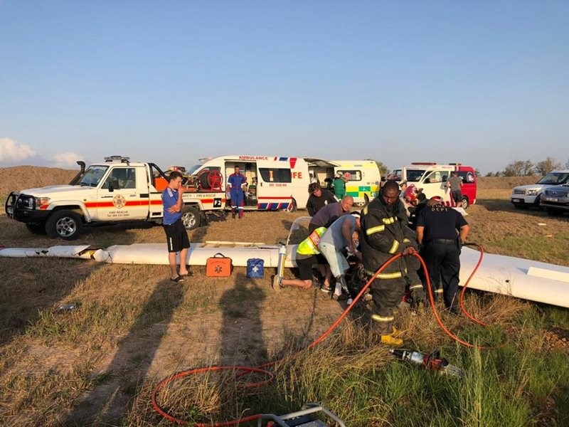 aircraft crash plettenberg bay