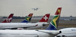 south african airways in business rescue