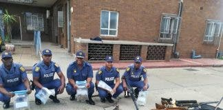 south african police uncover large arms cache