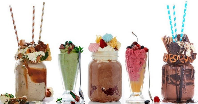 milkshake world record - cape town restaurant gibsons, south africa