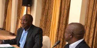 President Cyril Ramaphosa, Cabinet Lekgotla