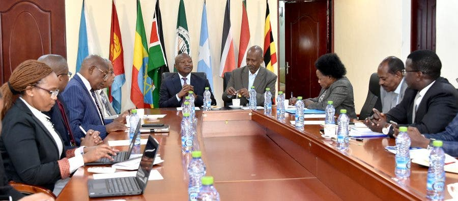 Deputy President David Mabuza meets with the InterGovernmental Authority on Development (IGAD) Special Envoys to South Sudan. The aim of the meeting was to discuss the proposals towards taking the ongoing process of bringing peace to South Sudan forward. (Photos: GCIS)