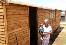 gogo builds own house after waiting list south africa