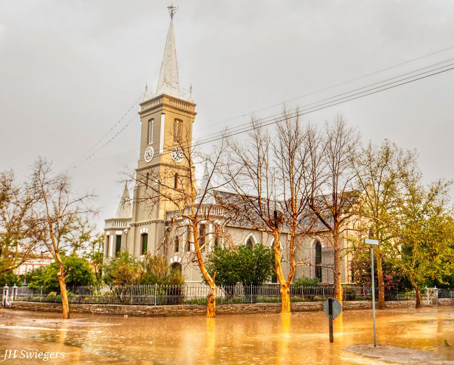Karoo floods church