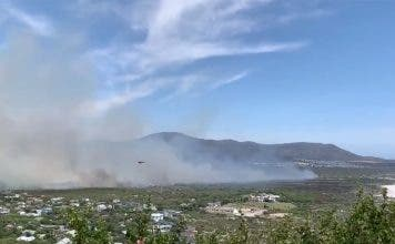 noordhoek fire cape town south africa