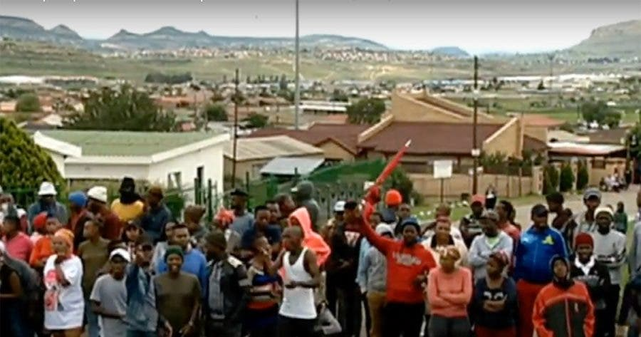 qwaqwa-arrests-protests