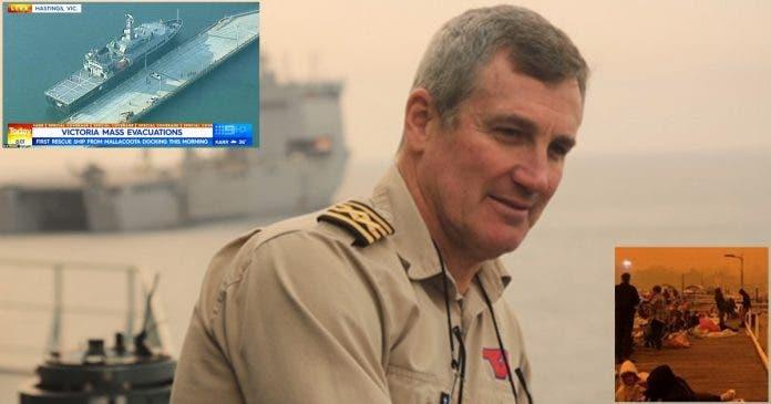 SA expat captain ship mass evacuations australian rescue