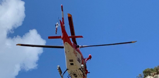 table mountain rescue operation