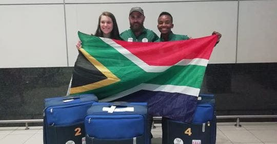 Thabo Rateleki team south africa winter youth olympics