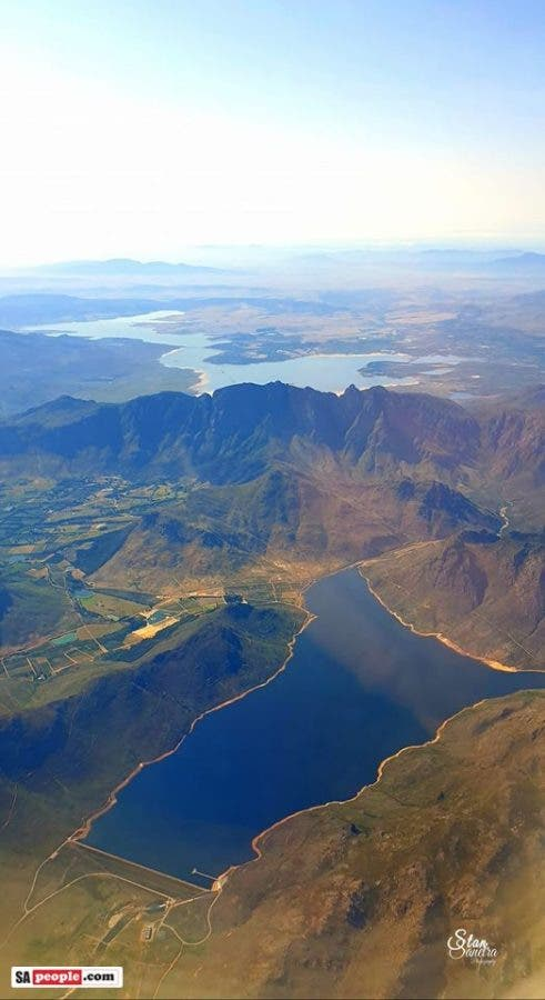 theewaterskloof dam and bergriver dam water levels january 2020