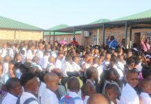 upington learners no toilets