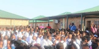 upington learners no toilets