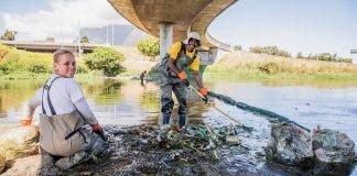 help up Black River Help npo fights pollution cape town