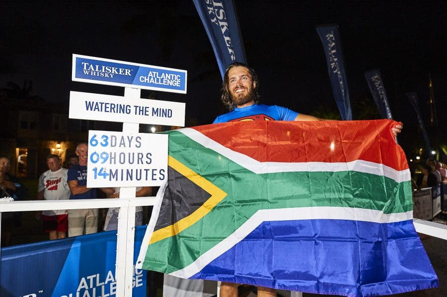 John Dempster of Watering The Mind just finished the World's Toughest Row, the Talisker Whisky Atlantic Challenge (TWAC).