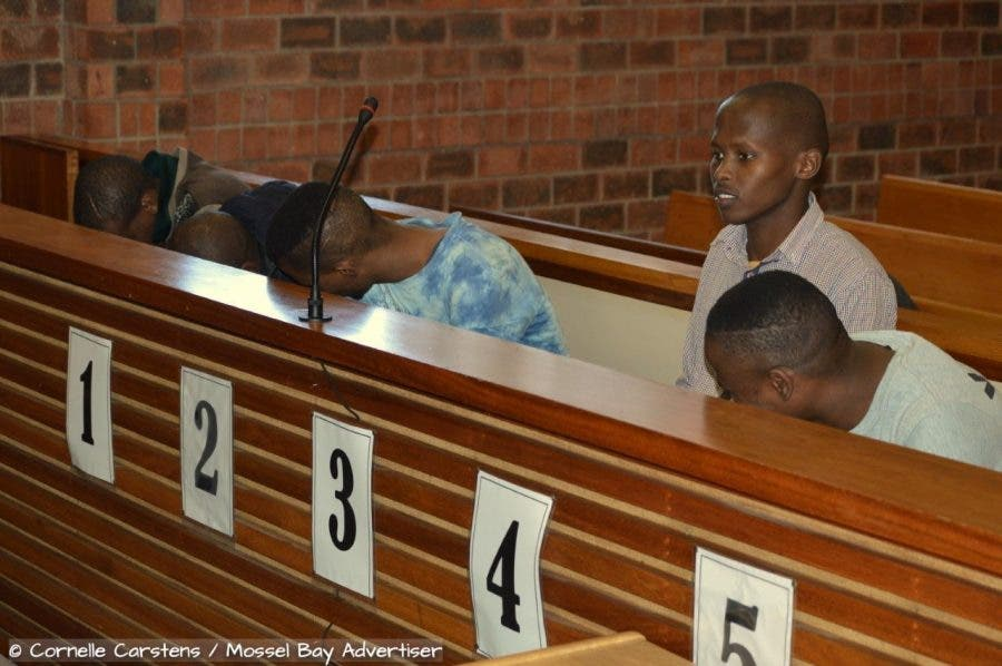 farm murder accused men suspects stilbaai mossel bay