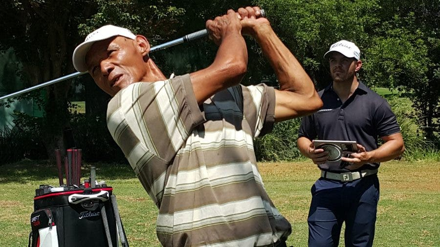 Llewellyn will play with professional golf players