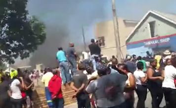 cape flats homes torched
